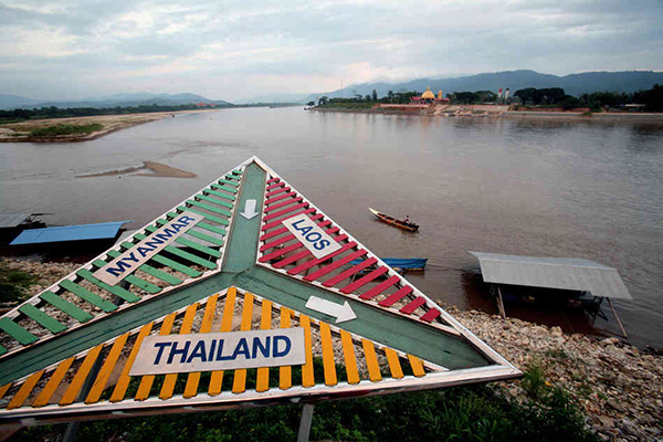 El triángulo de Oro en Tailandia