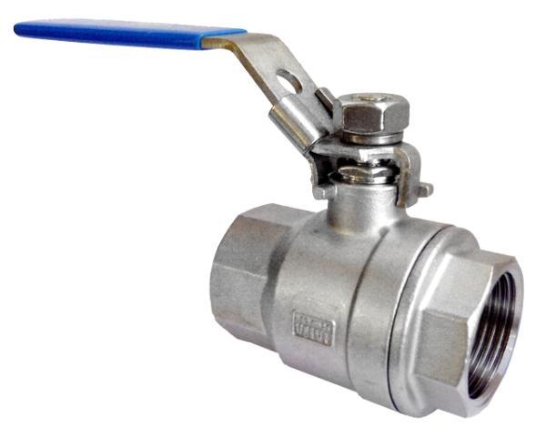 Válvulas de acero inoxidable, mayor calidad y garantía